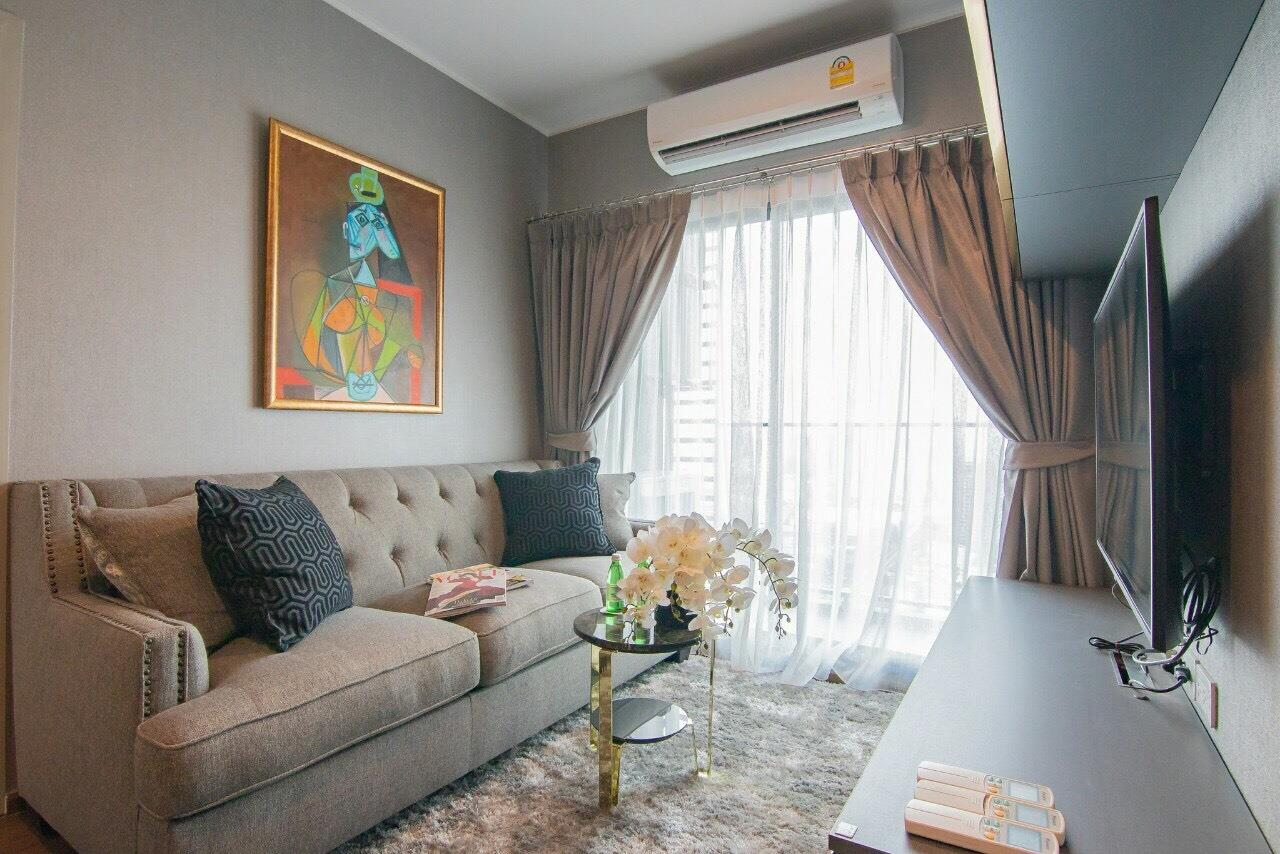 Agent - Supraras Agency's IDEO Sukhumvit 93 Condo 2 Bedroom 52 Sq.m. For Rent (High Floor & Nice Room) 2