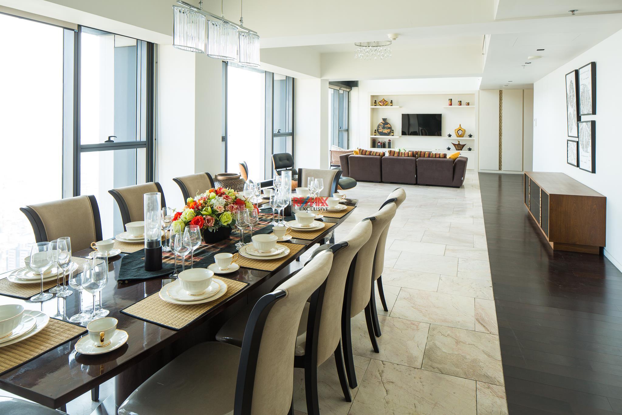 RE/MAX Exclusive Agency's The Met Three-Floor Skysuite Penthouse  4
