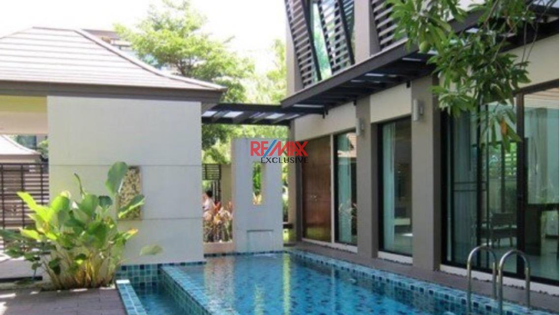 RE/MAX Exclusive Agency's Thonglor House with Private Pool in Secured Compound 1