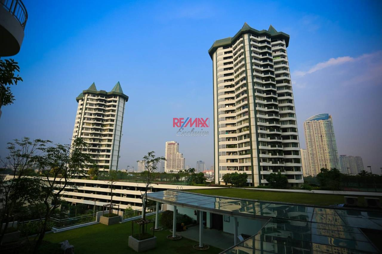 RE/MAX Exclusive Agency's Supalai River Resort 2 bedroom for rent with river view 1