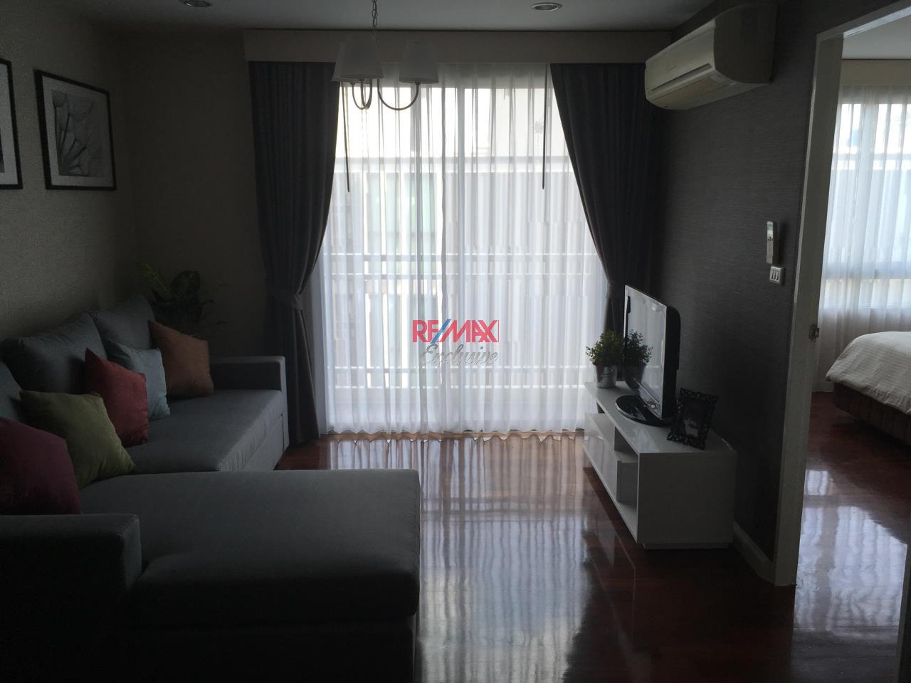 RE/MAX Exclusive Agency's specious 1 bedroom for rent at Plus 49 top floor 28,000 THB/month 5