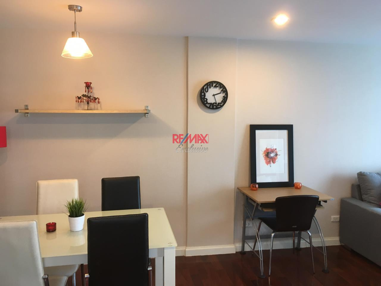 RE/MAX Exclusive Agency's specious 1 bedroom for rent at Plus 49 top floor 28,000 THB/month 1
