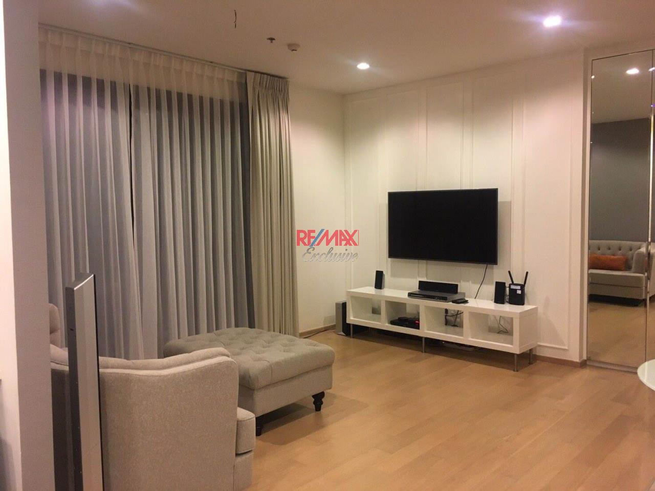 RE/MAX Exclusive Agency's HQ Thonglor, 2 Bedrooms 80 Sqm., High Floor With Nice View, For Rent!! 1