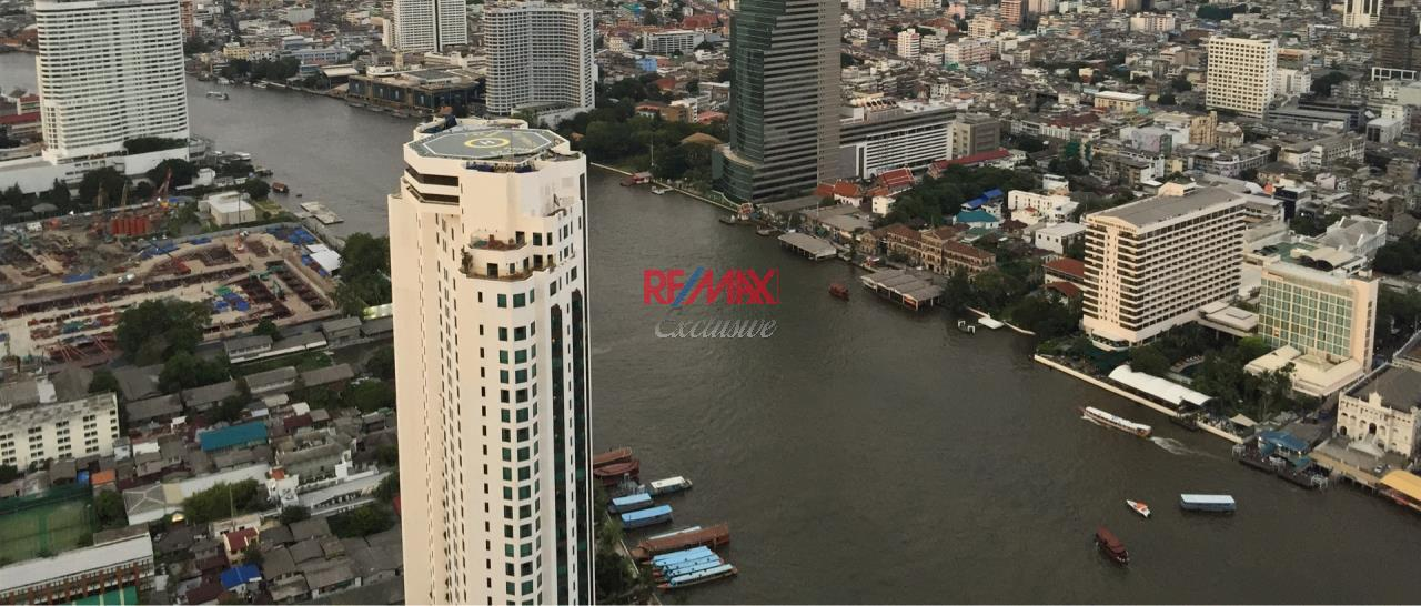 RE/MAX Exclusive Agency's The River Condo 2 Bedrooms, 110 Sqm., Corner Unit Facing Peninsular View For Sale 26,900,000 THB 4