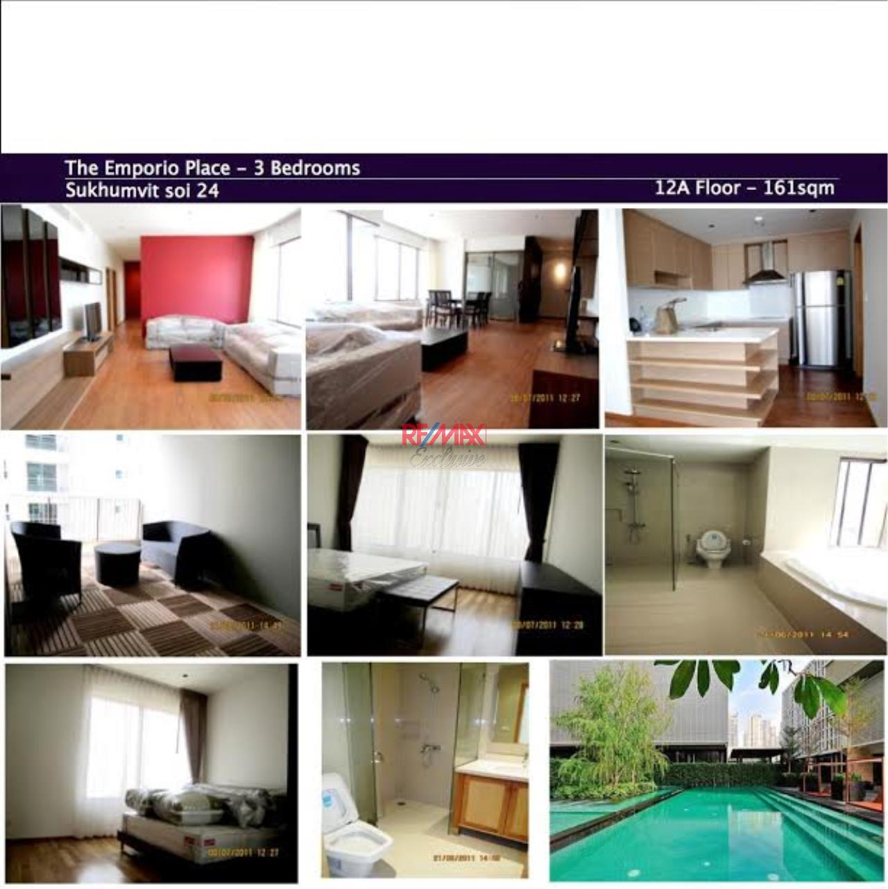 RE/MAX Exclusive Agency's Emporio Place, 3 Bedrooms, 3 Bathrooms, Only For Sale 26,000,000 THB 1