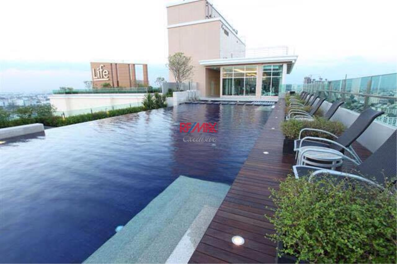 RE/MAX Exclusive Agency's Trendy 1 bedroom for sale @Life Ratchada - Huay Kwang 9