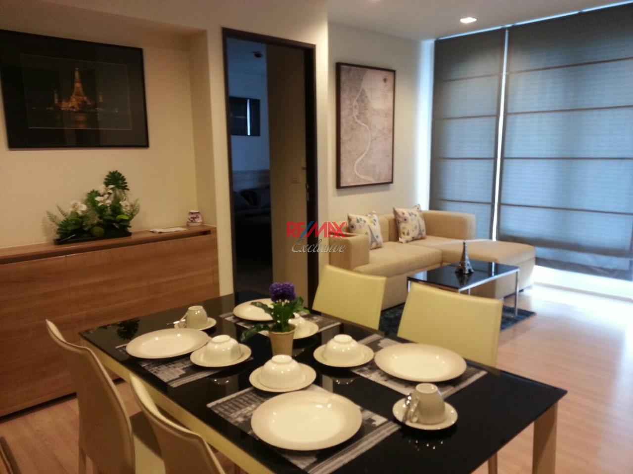 RE/MAX Exclusive Agency's Rhythm Sathorn 2 Bedrooms, 2 Bathrooms For Sale 10,500,000 THB, For Rent 42,000 THB 2