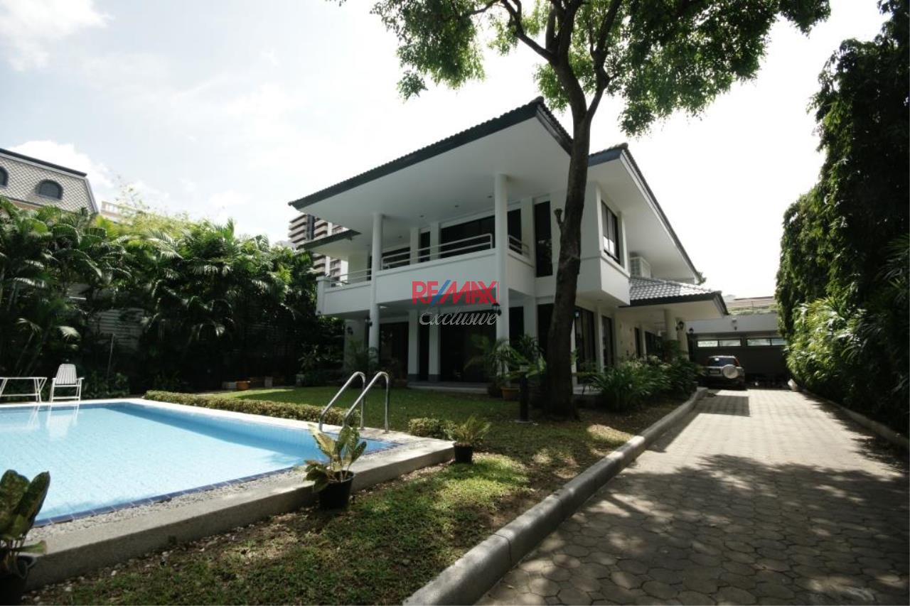 RE/MAX Exclusive Agency's Detached House 4 Bedrooms 400 Sqm., With Private Pool For Rent 200,000 THB!! 1