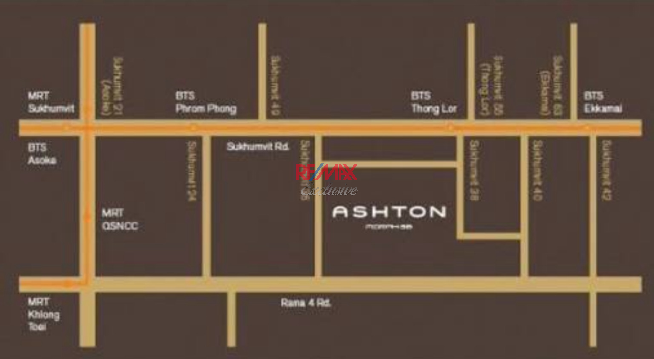 RE/MAX Exclusive Agency's One bedroom condo for rent at Ashton Morph 38 7