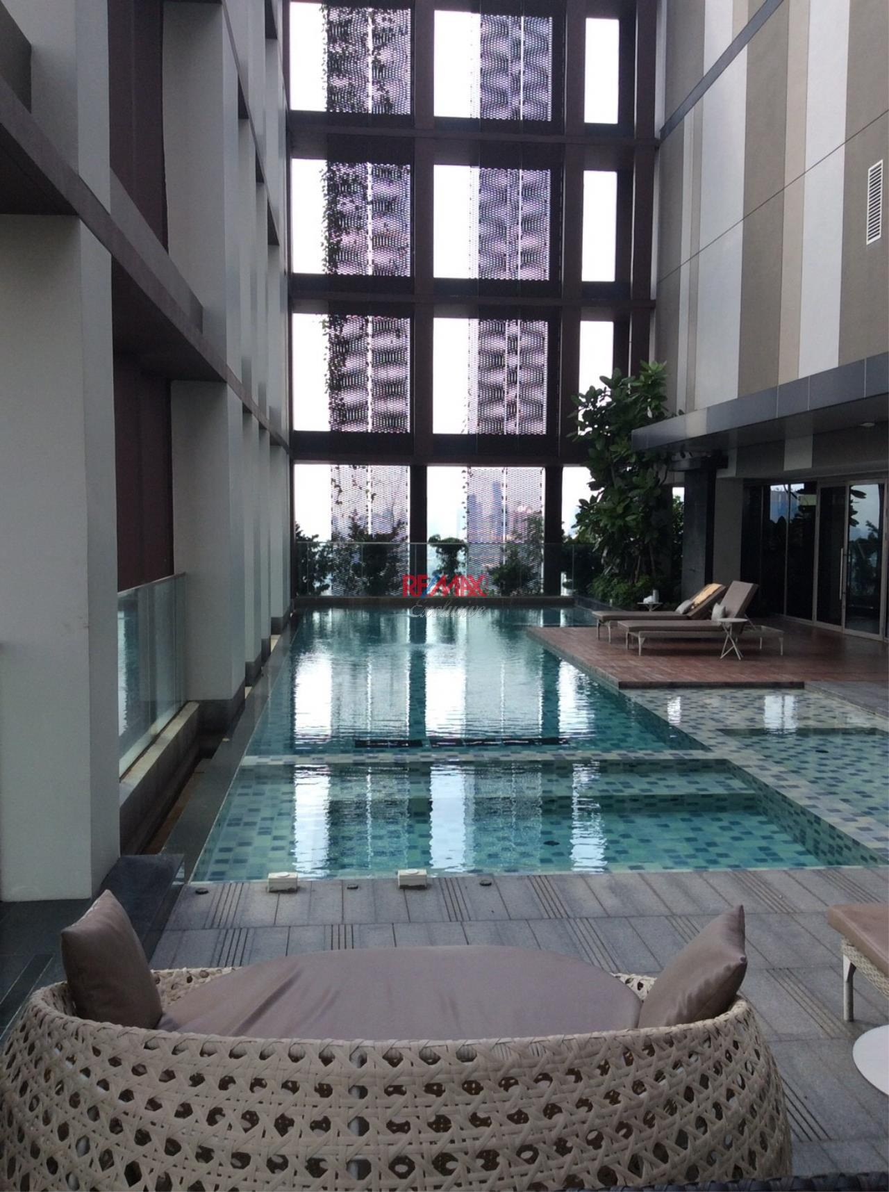 RE/MAX Exclusive Agency's One bedroom condo for rent at Ashton Morph 38 2