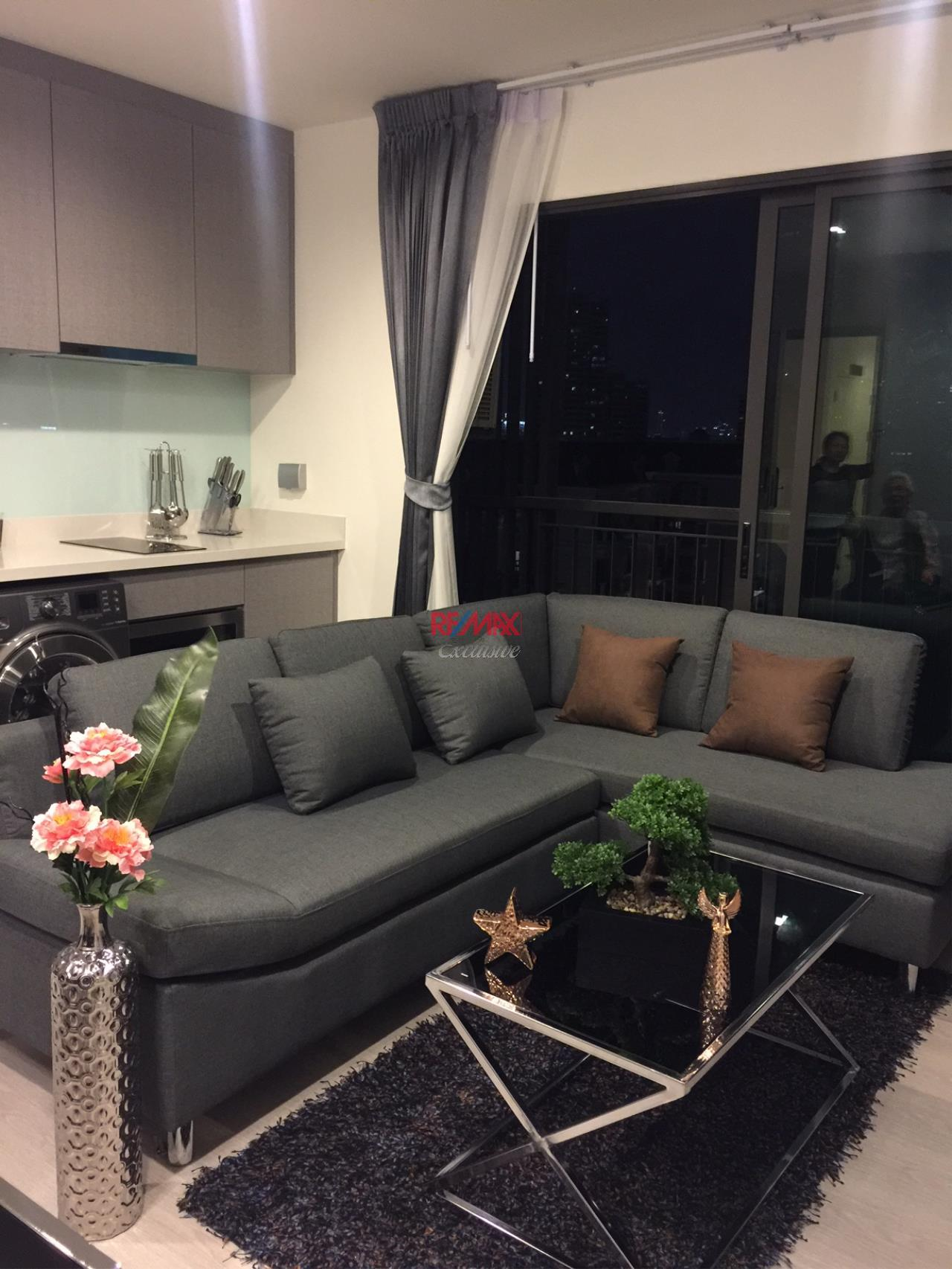 RE/MAX Exclusive Agency's Rhythm Sukhumvit 36-38 1 Bedroom, 42 Sqm., For Rent 35,000 THB!! 1