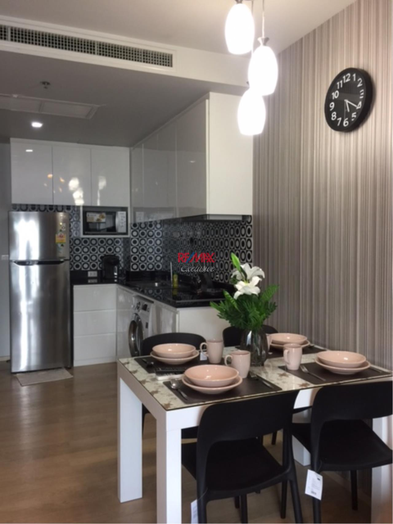 RE/MAX Exclusive Agency's Noble Refine 1 Bedroom, Beautiful and Modern Decoration For Rent 40,000 THB  4