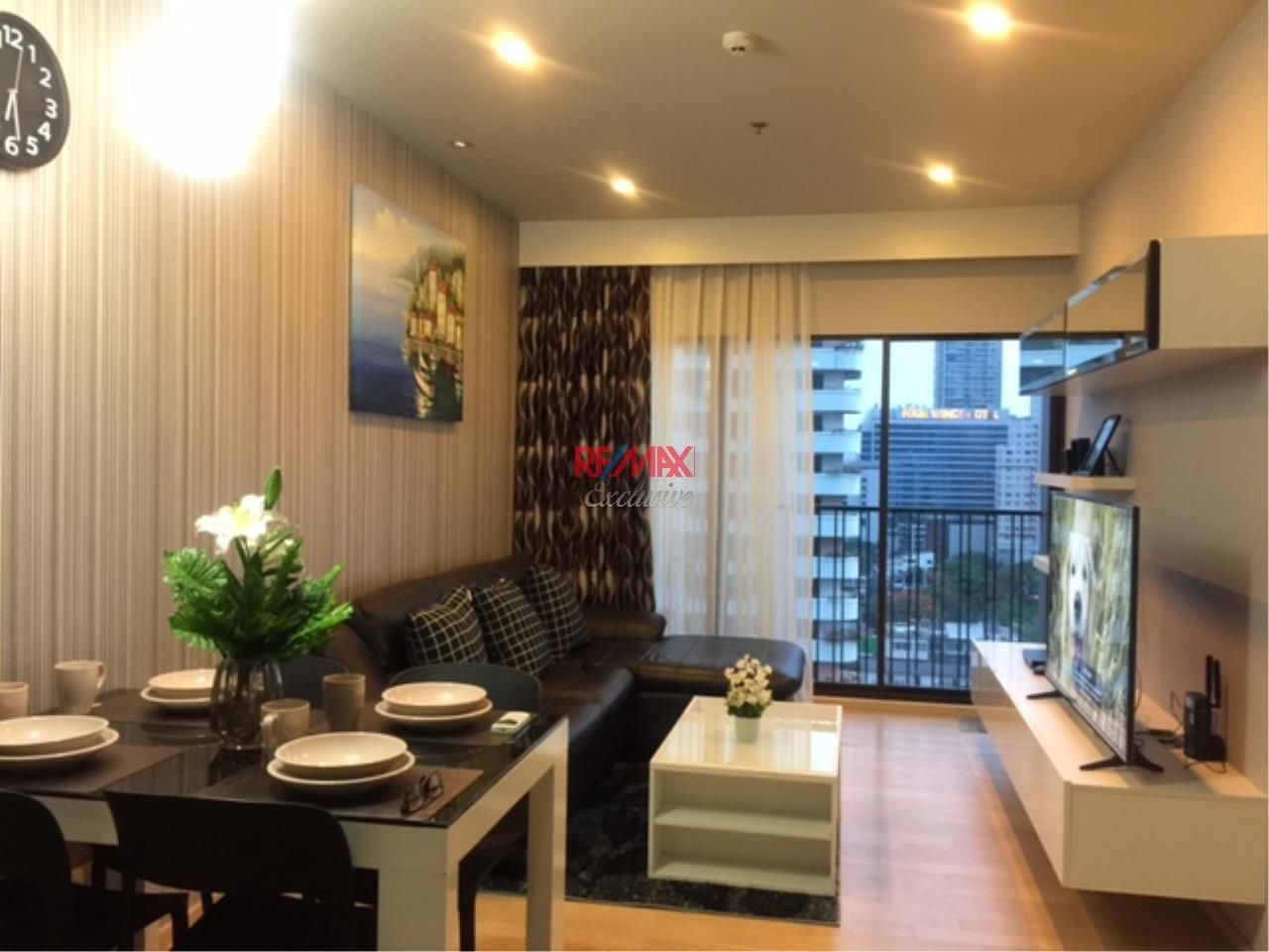 RE/MAX Exclusive Agency's Noble Refine 1 Bedroom, Beautiful and Modern Decoration For Rent 40,000 THB  1
