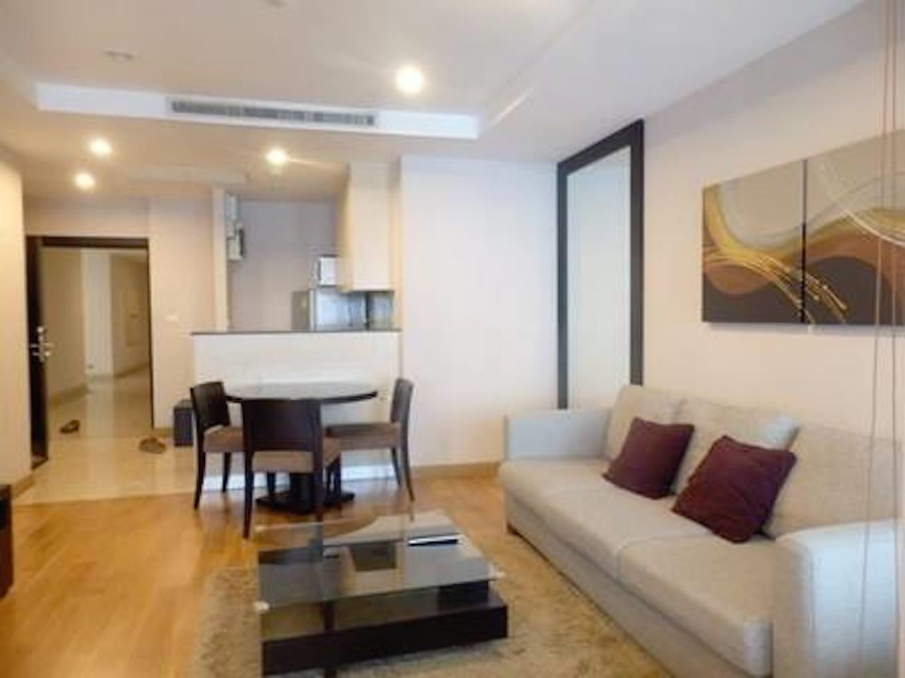 Mahanakornproperty Agency's Fully Furnished 1 bedroom for rent ,high floor 2
