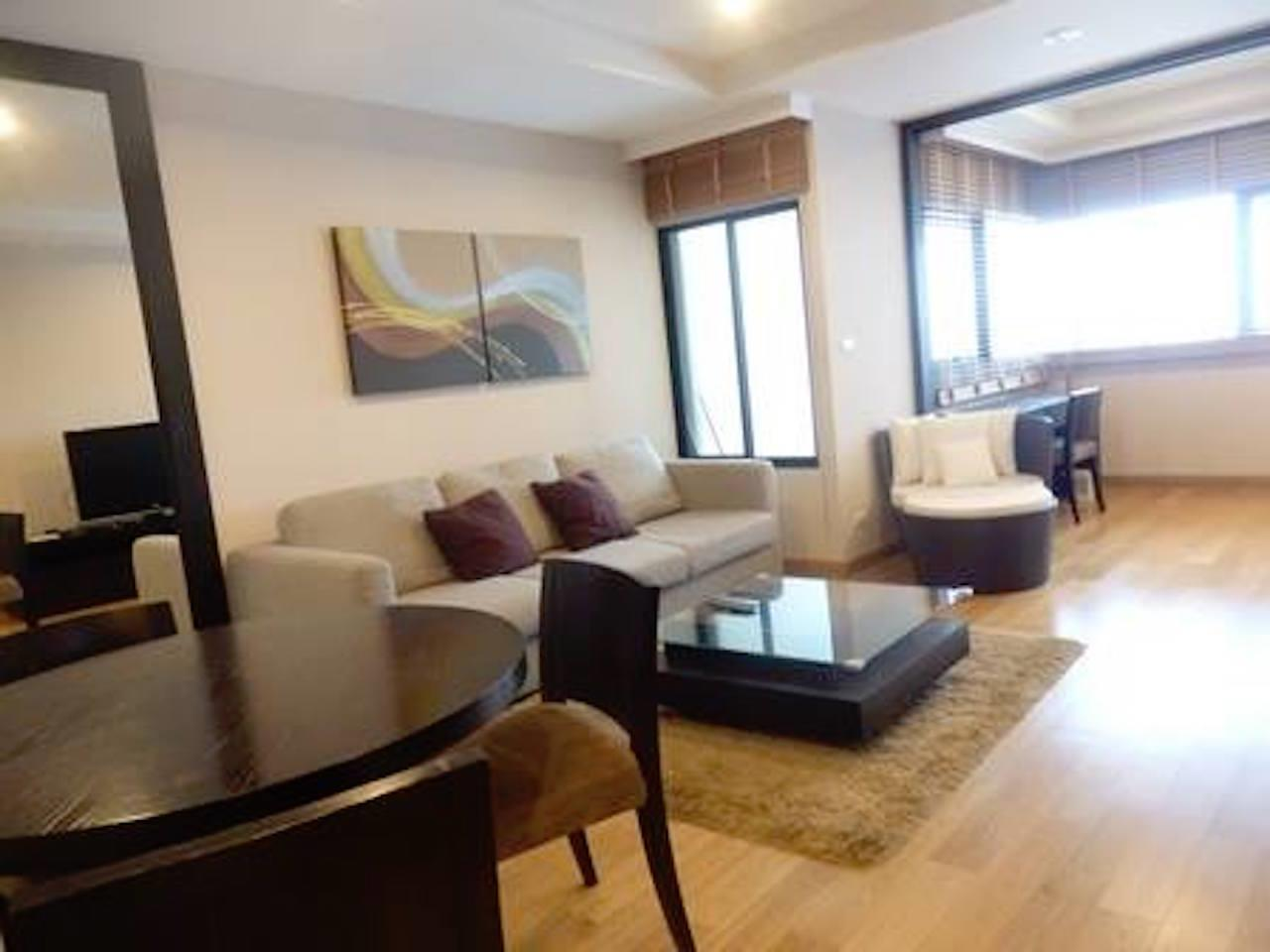 Mahanakornproperty Agency's Fully Furnished 1 bedroom for rent ,high floor 5