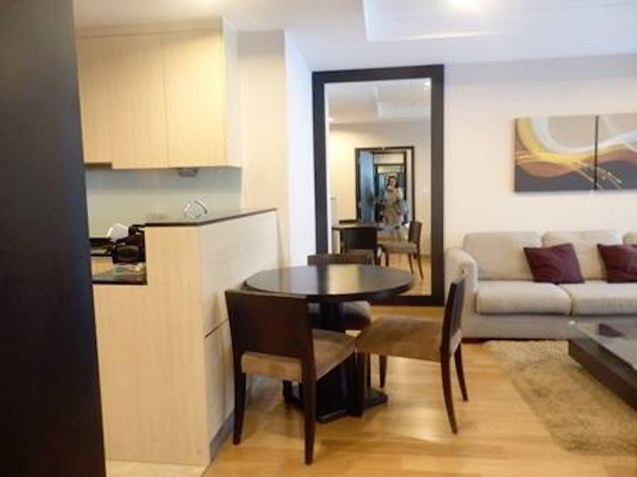 Mahanakornproperty Agency's Fully Furnished 1 bedroom for rent ,high floor 8