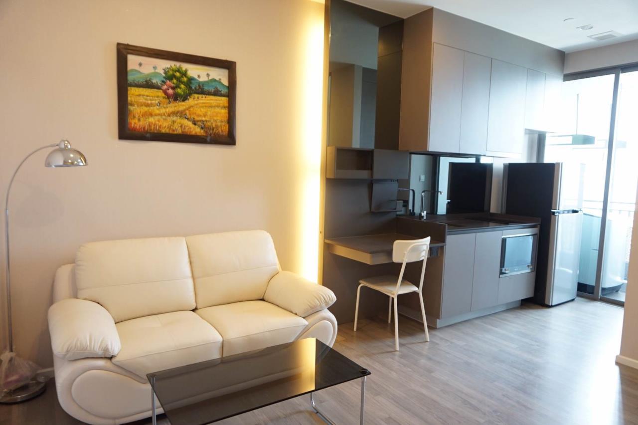 Mahanakornproperty Agency's Next to BTS Asoke 1 bedroom for rent, Unblocked View, Great infinity pool 2