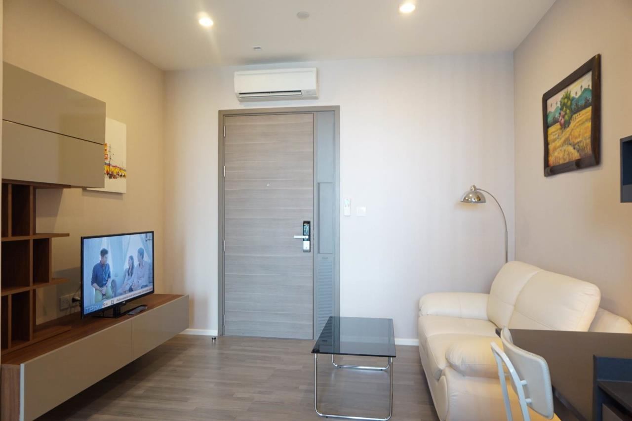Mahanakornproperty Agency's Next to BTS Asoke 1 bedroom for rent, Unblocked View, Great infinity pool 4
