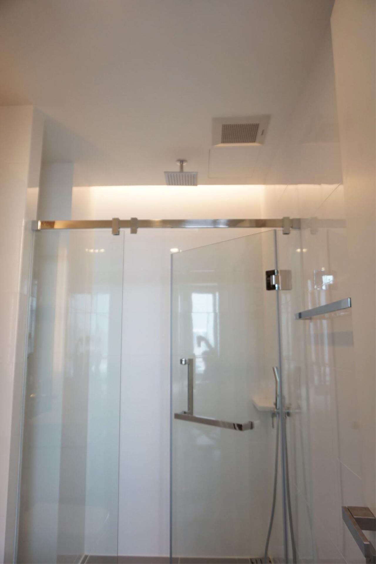 Mahanakornproperty Agency's Next to BTS Asoke 1 bedroom for rent, Unblocked View, Great infinity pool 5