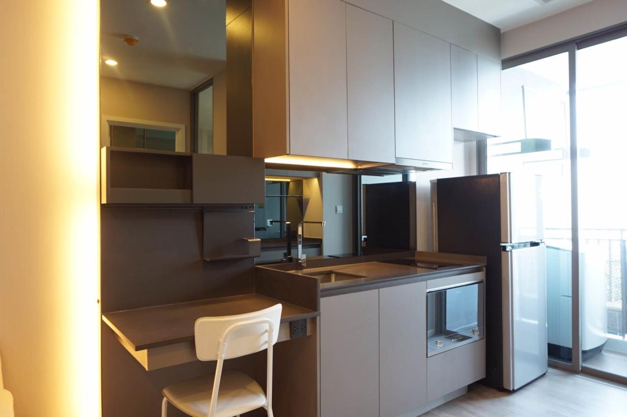 Mahanakornproperty Agency's Next to BTS Asoke 1 bedroom for rent, Unblocked View, Great infinity pool 6