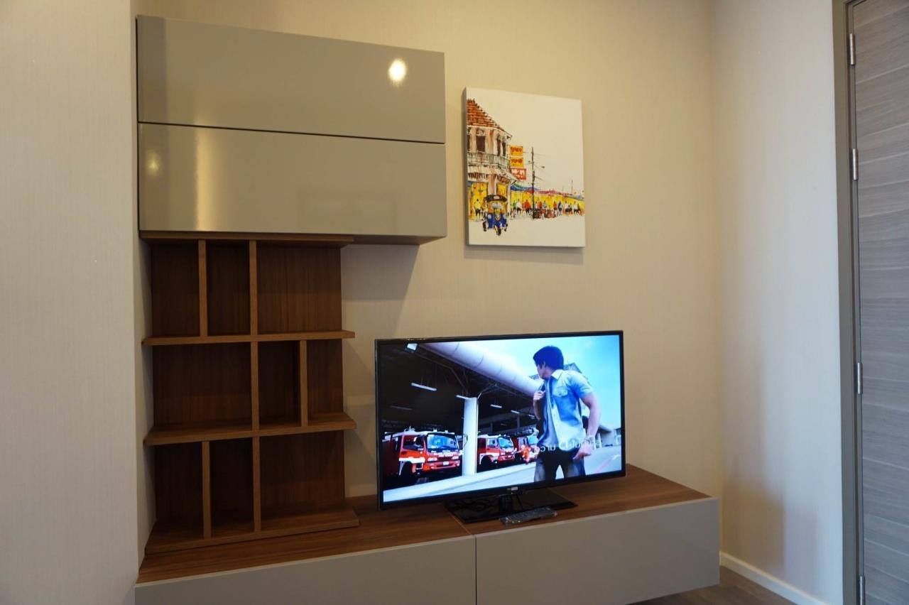 Mahanakornproperty Agency's Next to BTS Asoke 1 bedroom for rent, Unblocked View, Great infinity pool 7