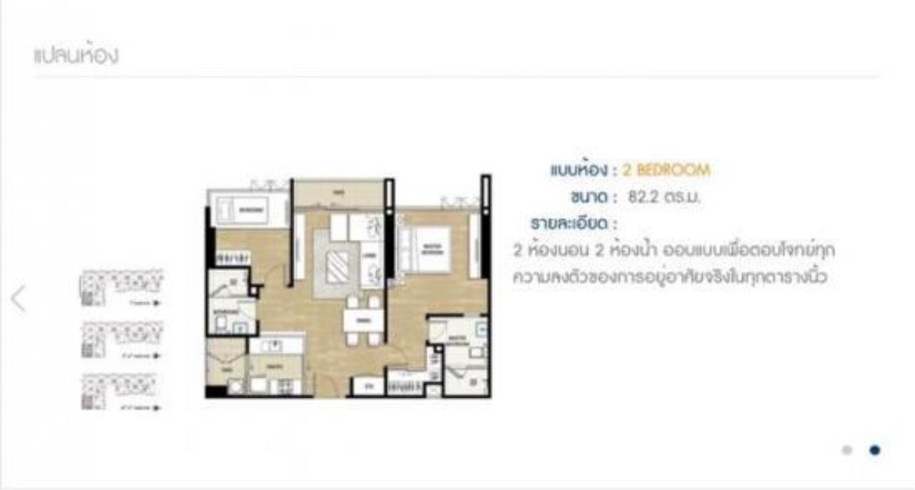 You Estate Agency's For sale The Room Sukhumvit 69 2bed, 82sq.m  6