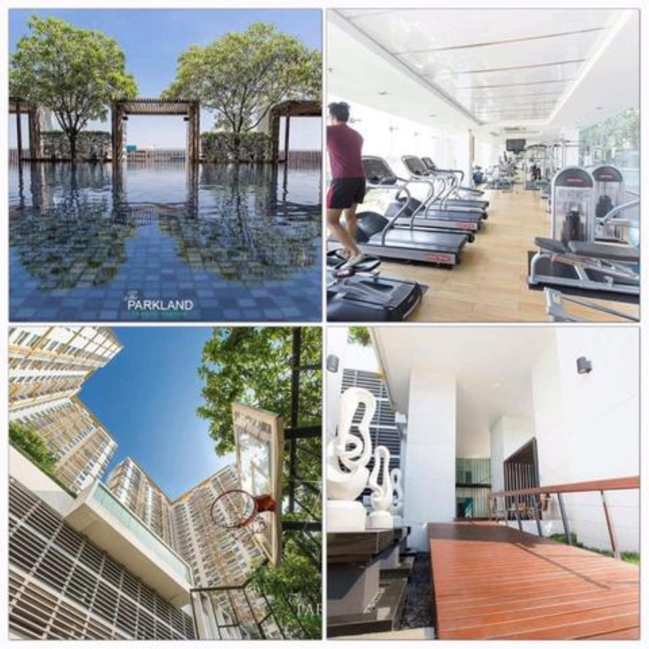 You Estate Agency's For sale condo 2 bed Parkland Taksin - Thapra  3