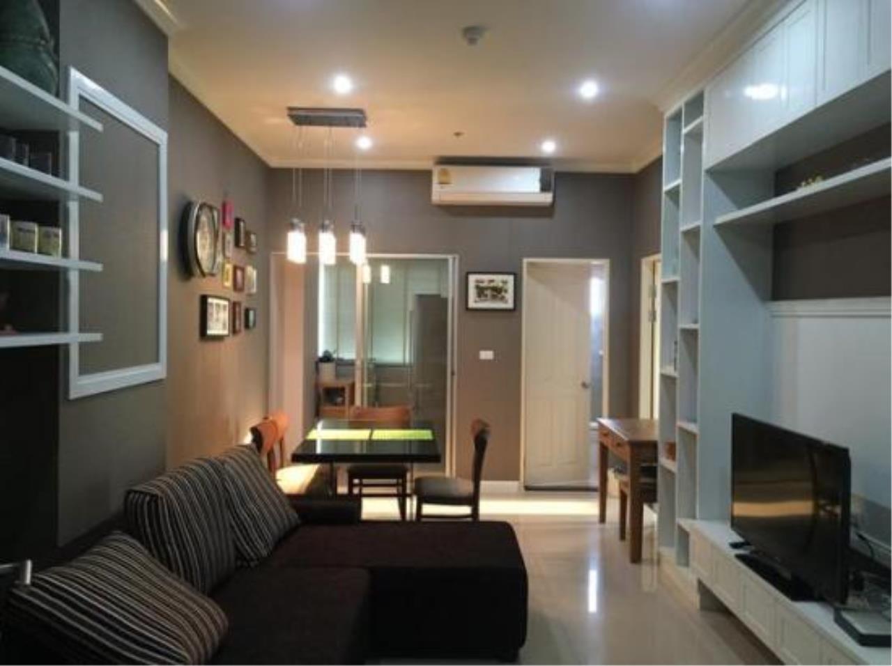 You Estate Agency's sale 75.5 sq.m 2 bed Supalai Park Asoke Ratchada Duplex  1