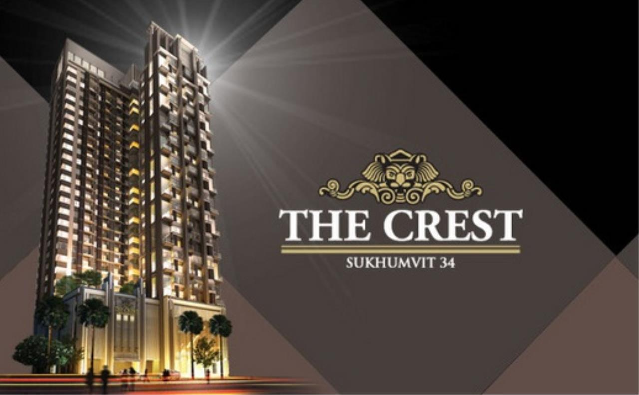 You Estate Agency's for rent  The Crest Sukhumvit 34 BTS Thonglor 1