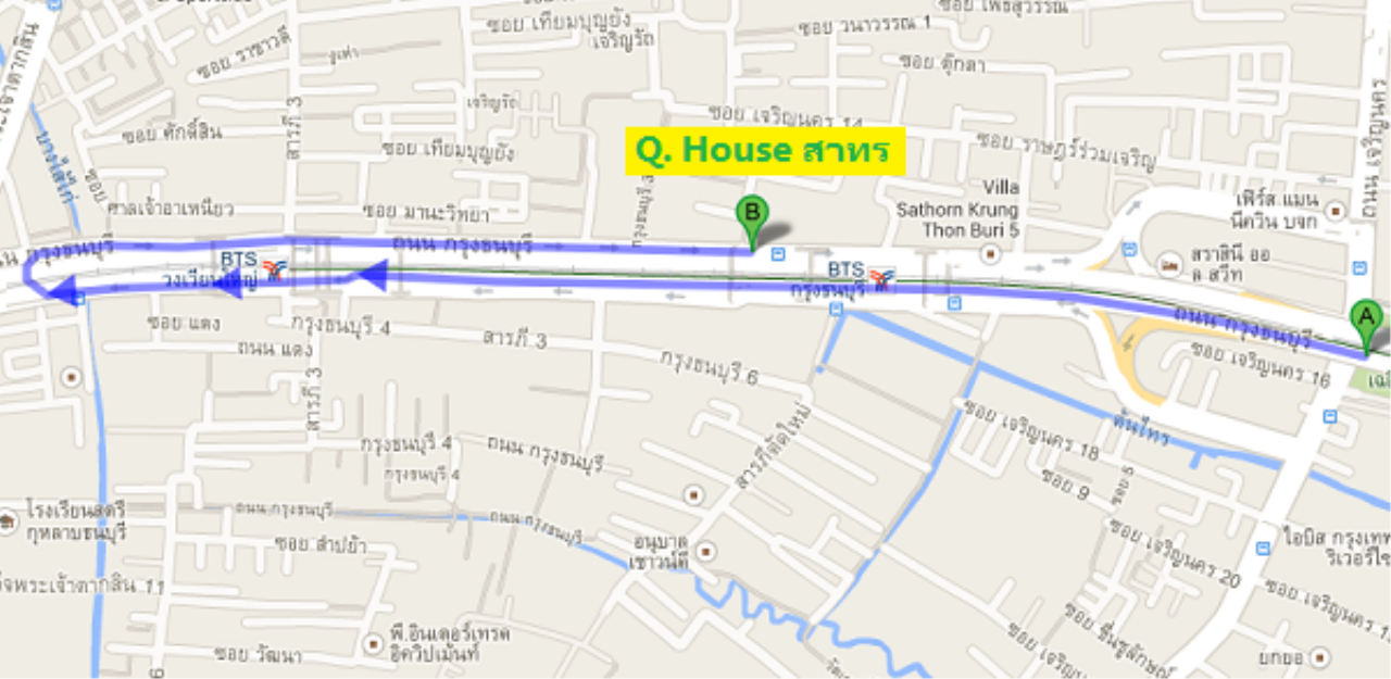 You Estate Agency's sale 41 sq.m 1 bed Q HOUSE SATHORN 6