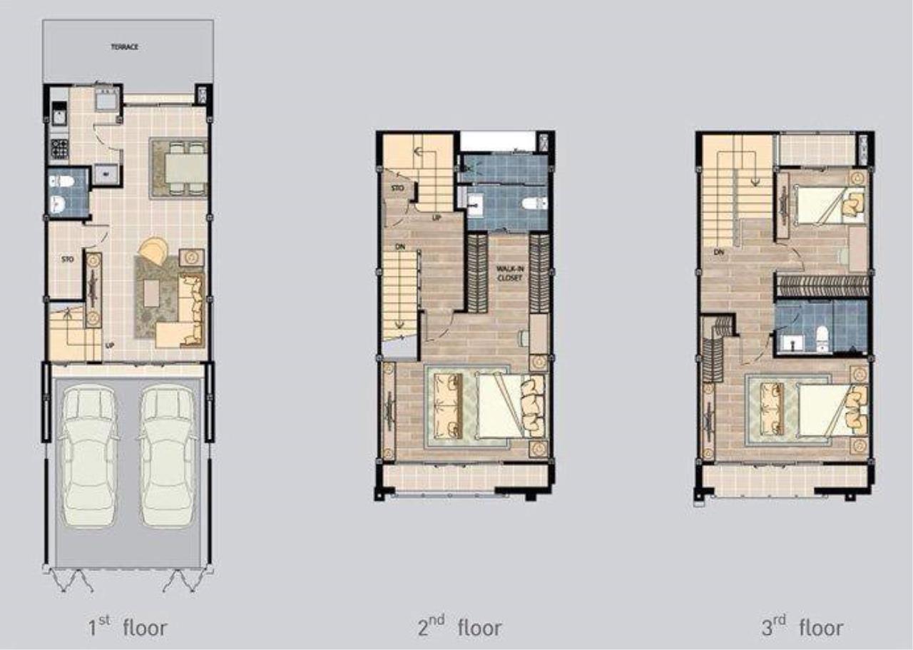 You Estate Agency's sale 20 sq.w 3bed BAAN KLANG MUANG SATHORN TAKSIN 2 2