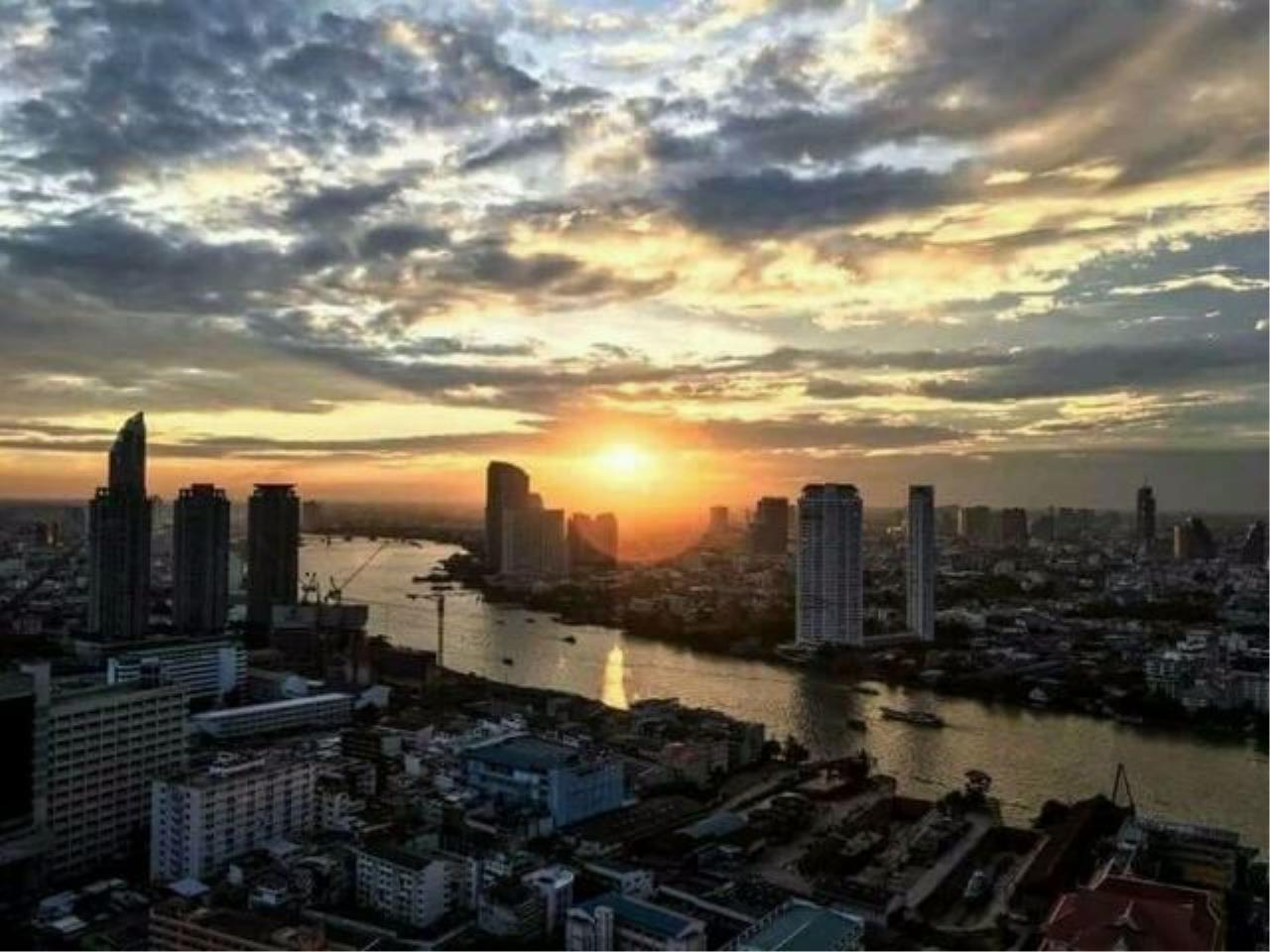 You Estate Agency's sale 2 bed Rhythm sathorn 39 floor 63 sq.m river view 1