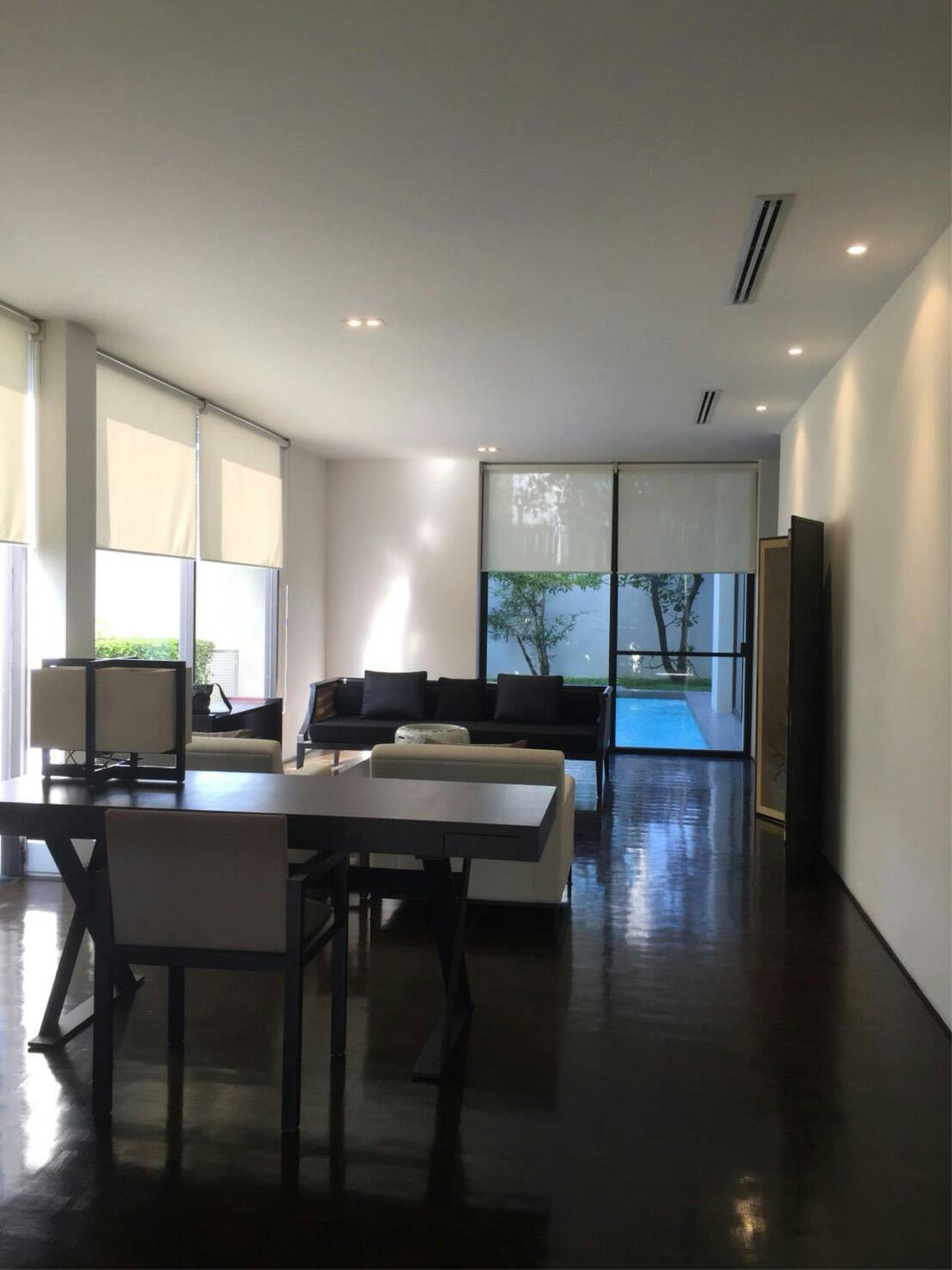 Professional One Service Agency's House with pool near BTS Thonglo  6
