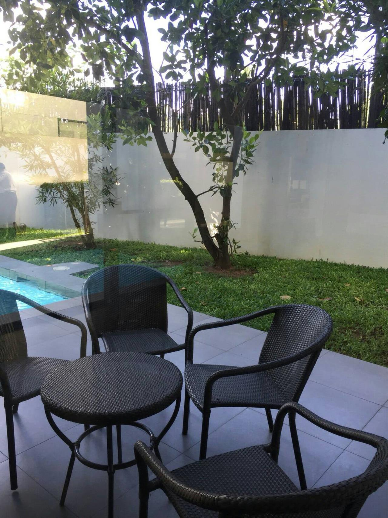 Professional One Service Agency's House with pool near BTS Thonglo  5