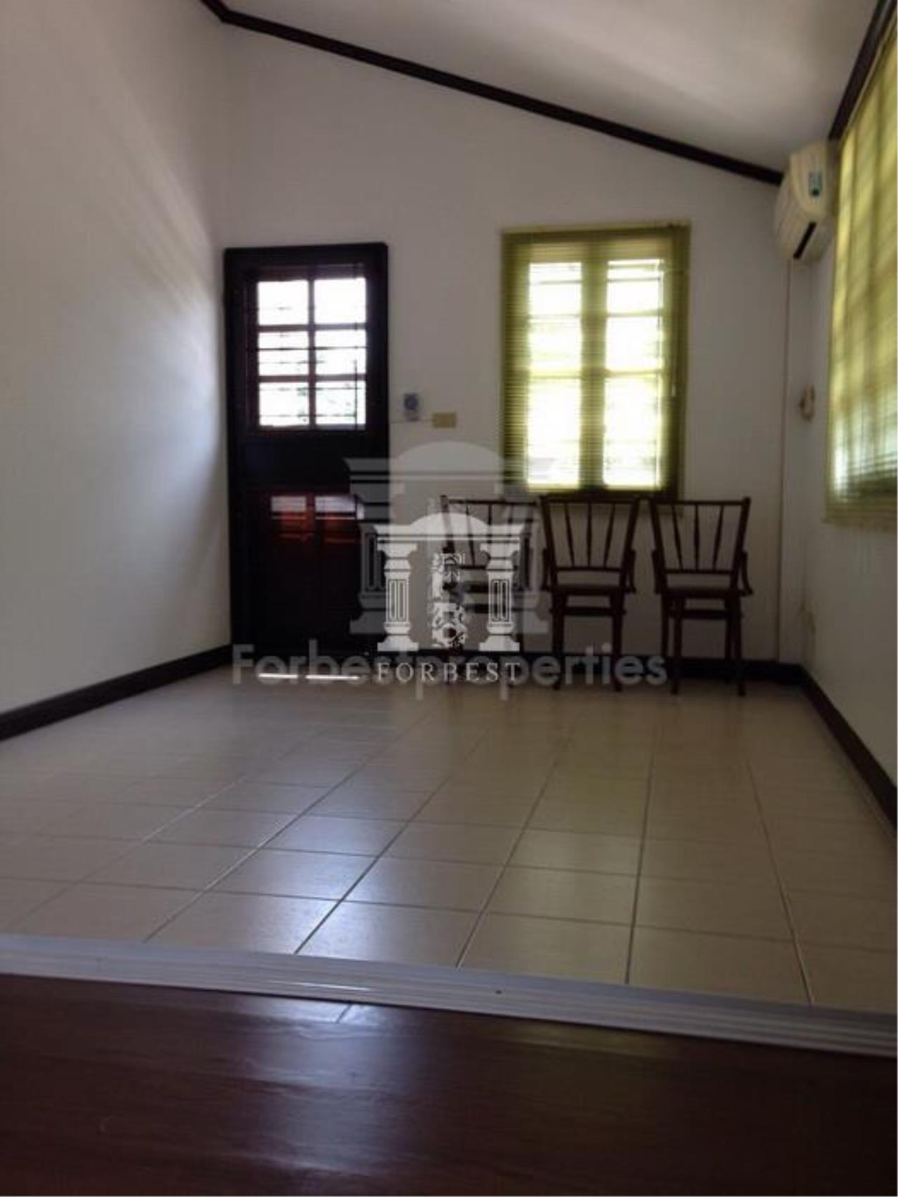 Forbest Properties Agency's 36774 - Single house  Manthana Village Ramintra-Wongwaen Road. 143 sq.w. 6