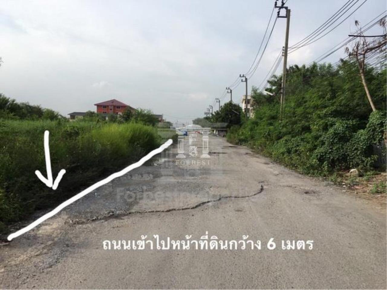 Forbest Properties Agency's 36843 - Land for Sale Chalermprakiat Rama 9  Road, area 1 Rai 192 sq.m. 2