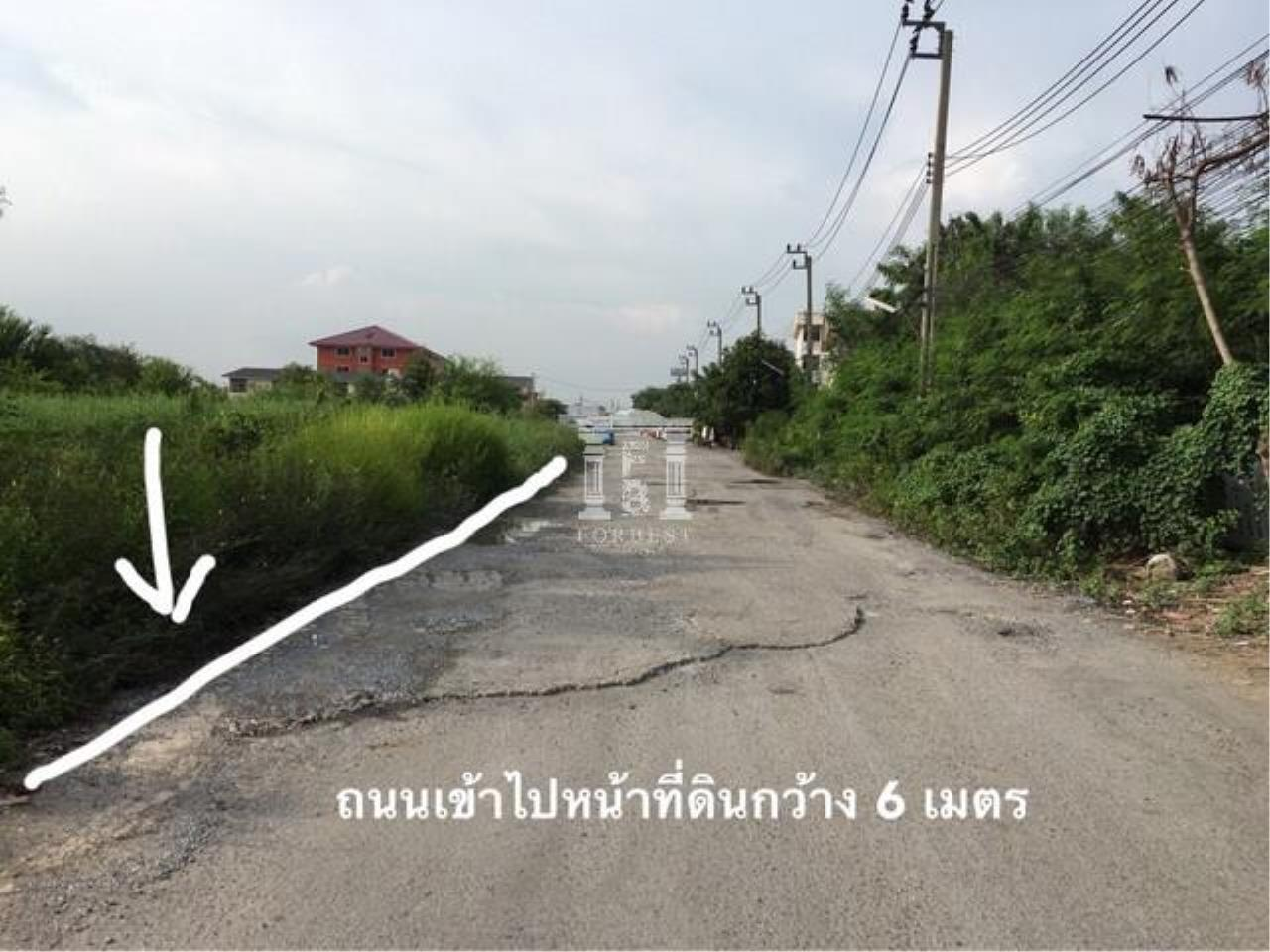 Forbest Properties Agency's 36845-Land for sale, on Chaloem Phra Kiat Ratchagan Thi 9 rd., 4 rai 24 sq.wa. 4