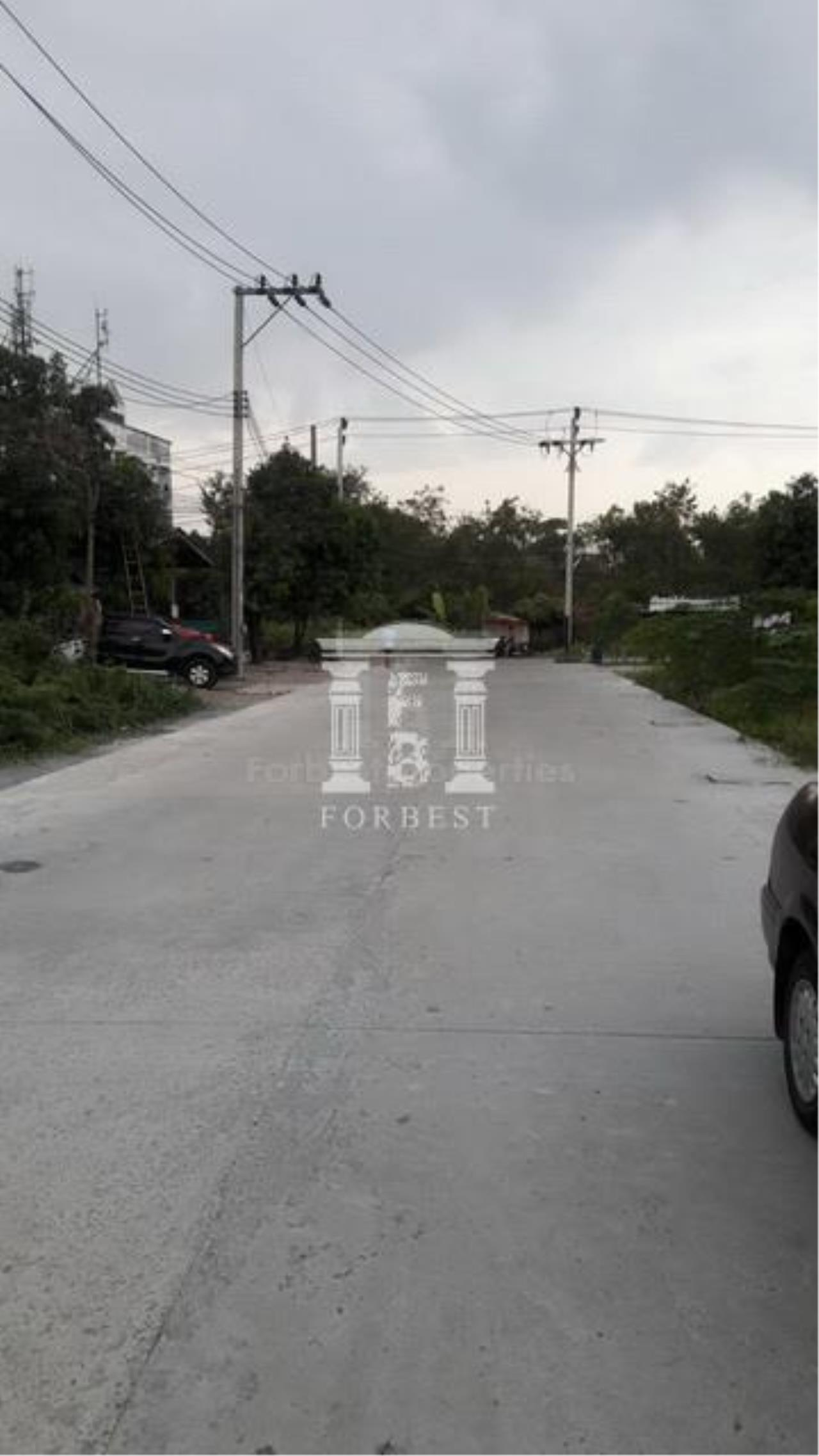 Forbest Properties Agency's 36845-Land for sale, on Chaloem Phra Kiat Ratchagan Thi 9 rd., 4 rai 24 sq.wa. 7