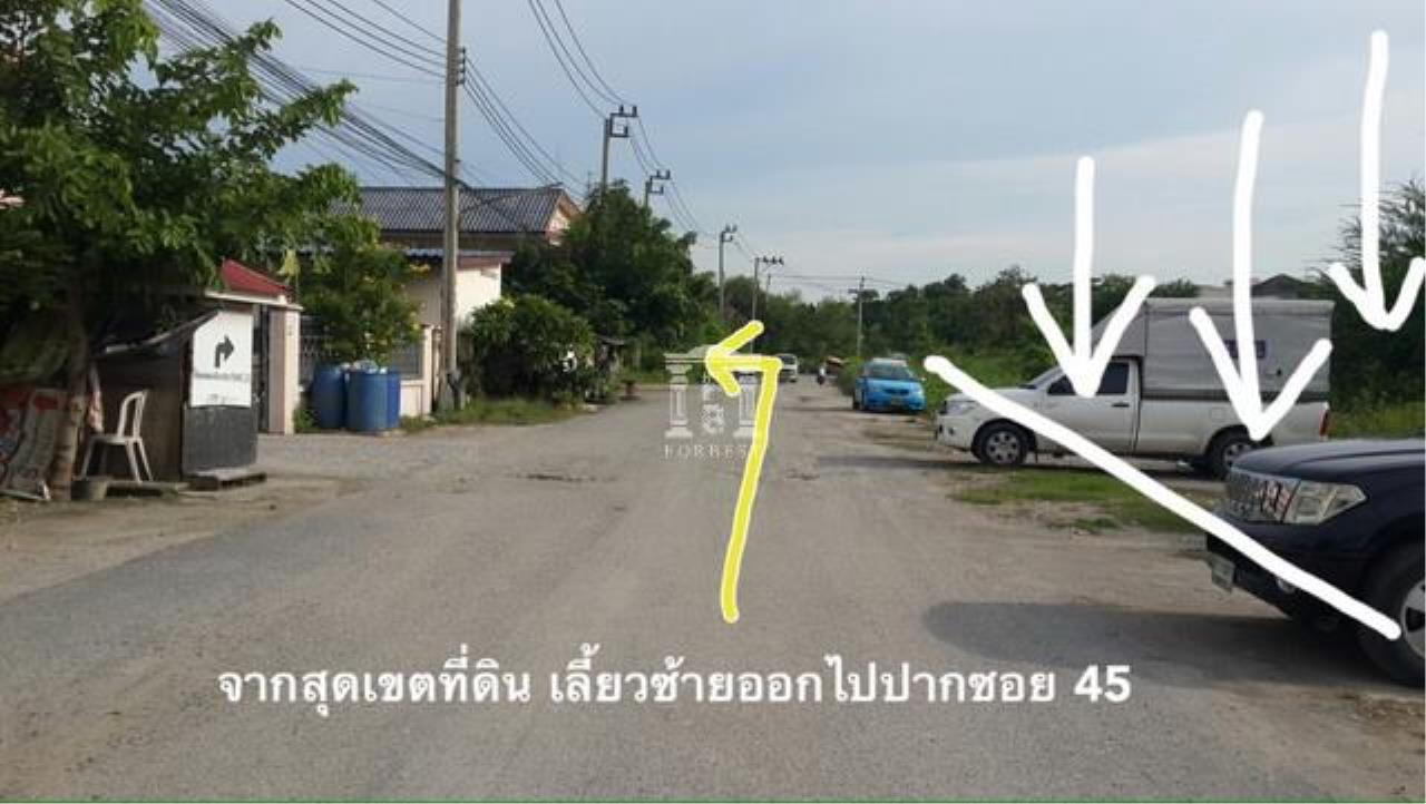 Forbest Properties Agency's 36845-Land for sale, on Chaloem Phra Kiat Ratchagan Thi 9 rd., 4 rai 24 sq.wa. 8