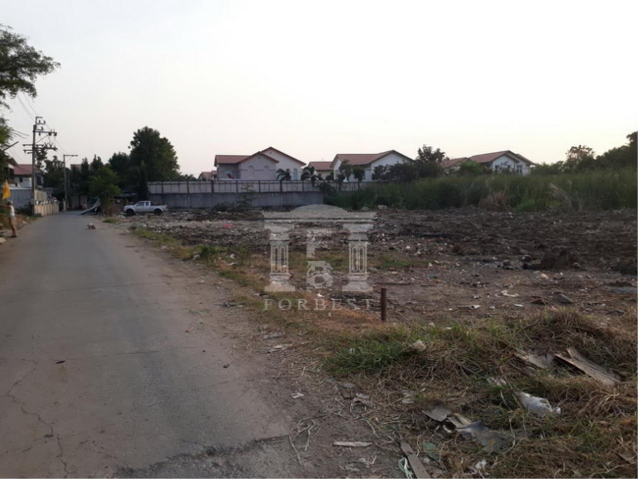 Forbest Properties Agency's 37153-Land for sale, on Ramintra rd., 4 rai 2