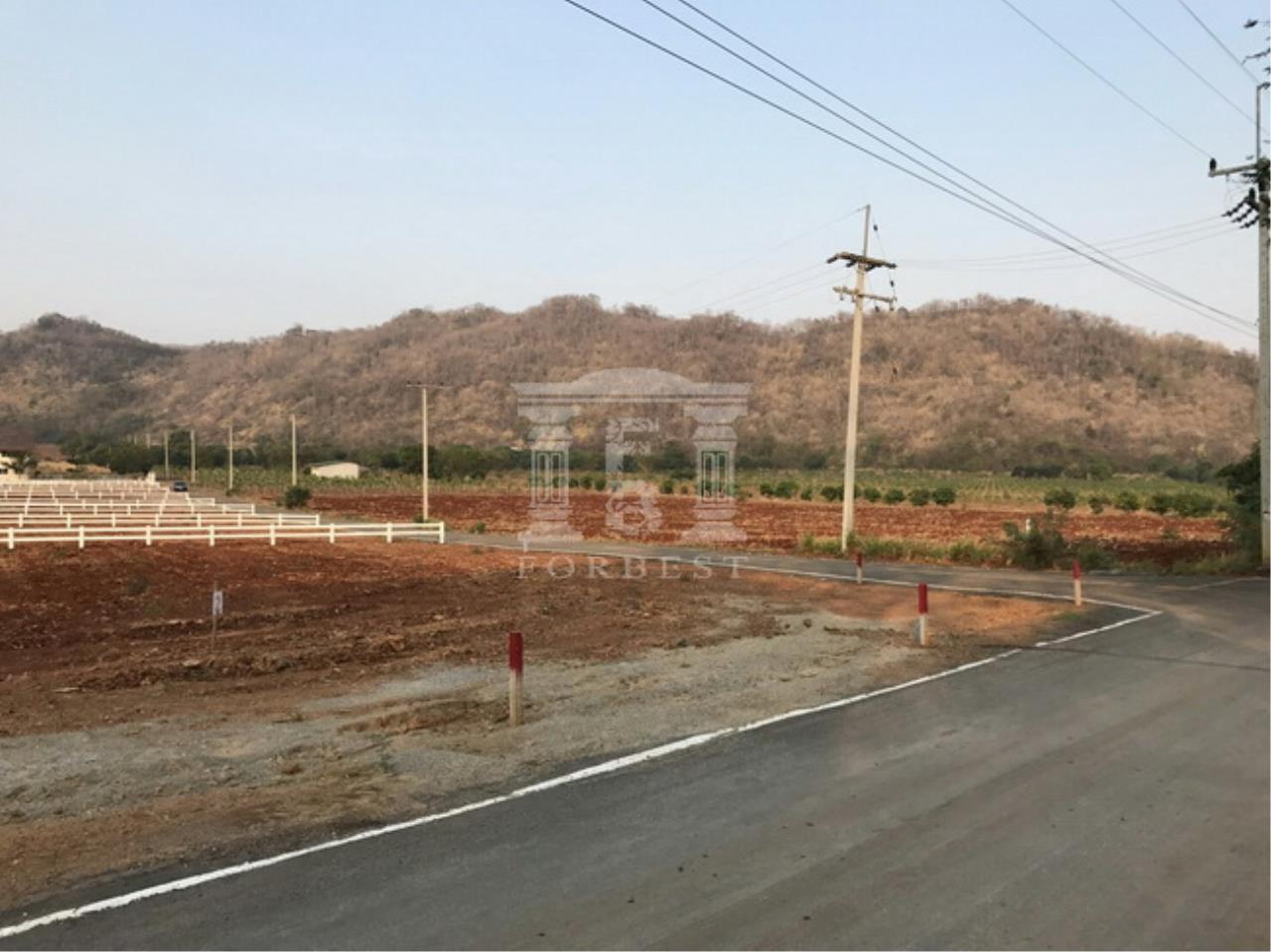 37228-Land for sale, on Thanarat rd. (Khao yai), 1 rai