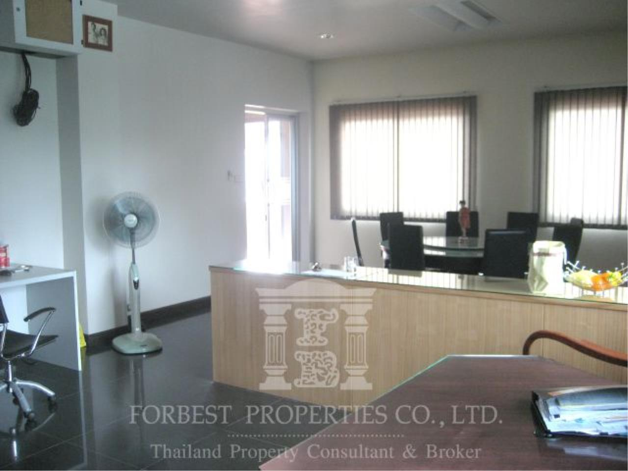 Forbest Properties Agency's 27755 - Office building for sale, on Narathiwas Ratchanakarin rd., 48 sq.wa. 5