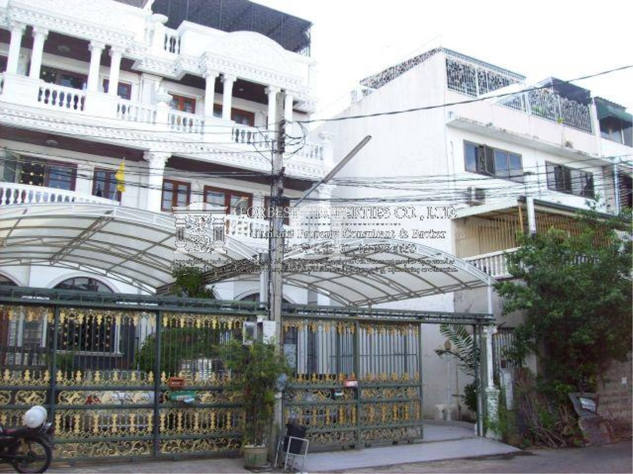 Forbest Properties Agency's 30266 - Townhouse for sale 4.5 stories Phaholyothin 5 Rd. 50 sq.w.. 4