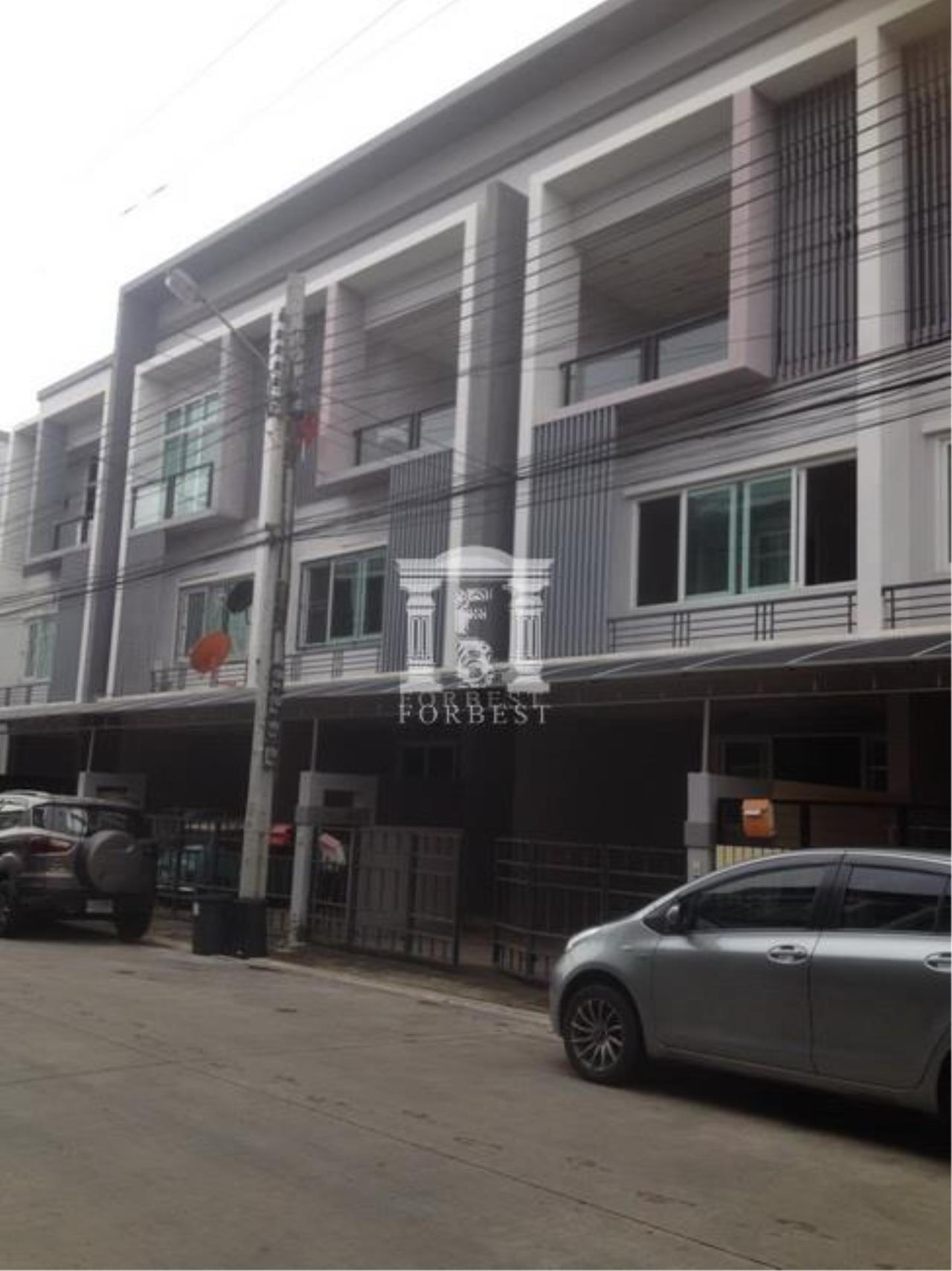 Forbest Properties Agency's 37240 - Townhome for sale (The Exclusive Pattanakarn 44), 21.40 sq.wa. 2