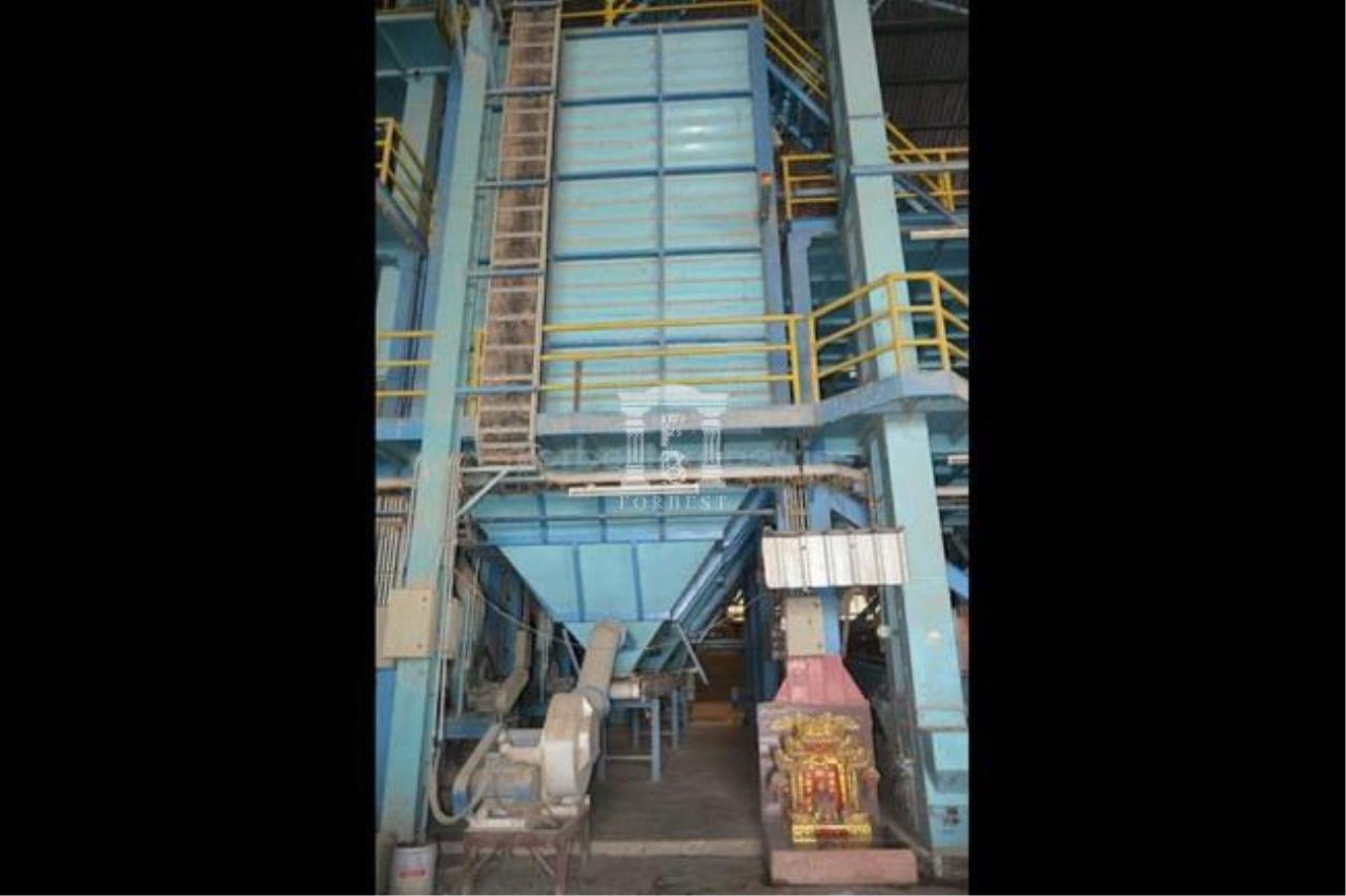 Forbest Properties Agency's 36537- rice mill for sale, in Suphanburi province, 37 rai 86 sq.wa. 10