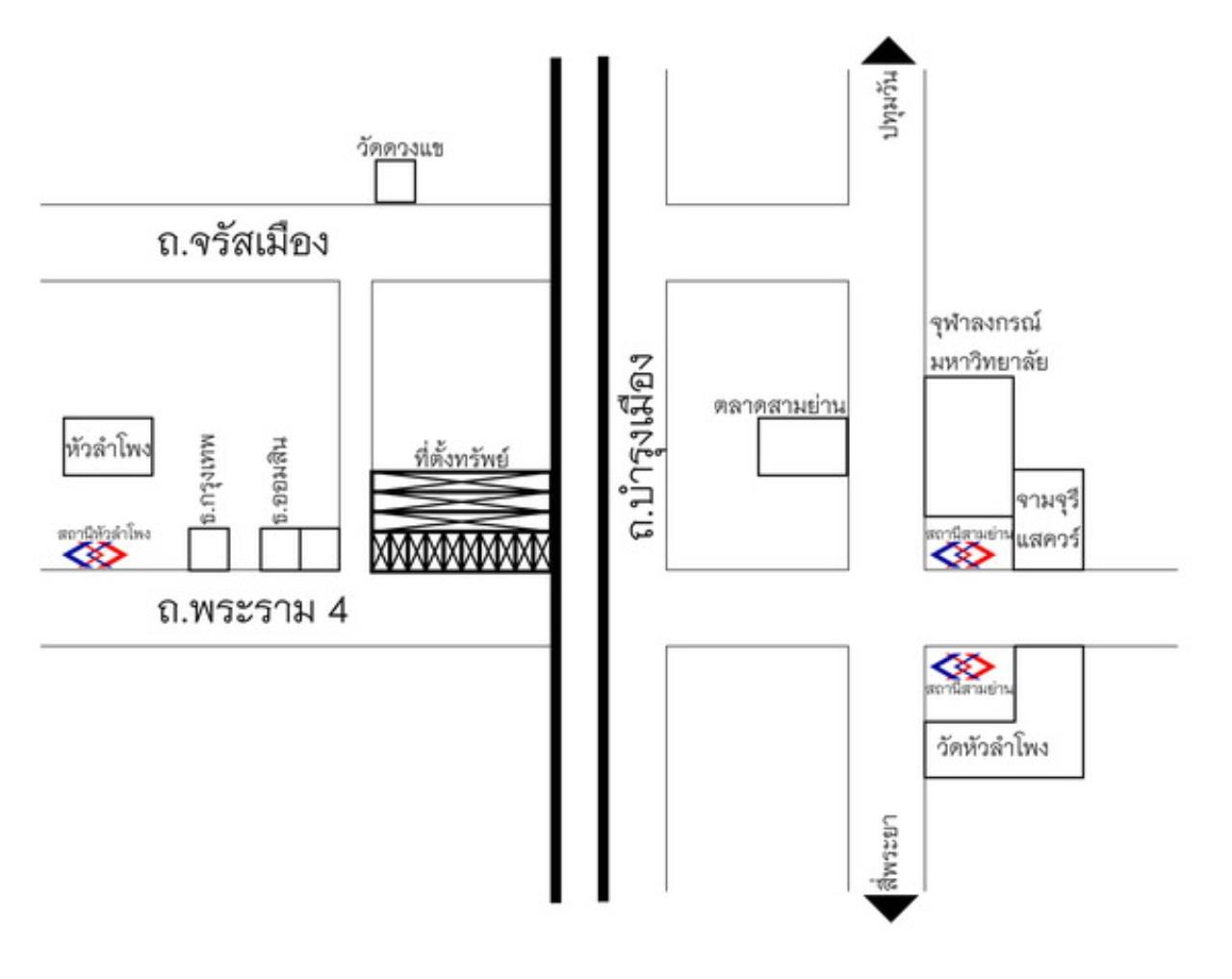 Forbest Properties Agency's 36178-Land + commercial building for sale, on Rama 4 road, 83.40 sq.wa. 1