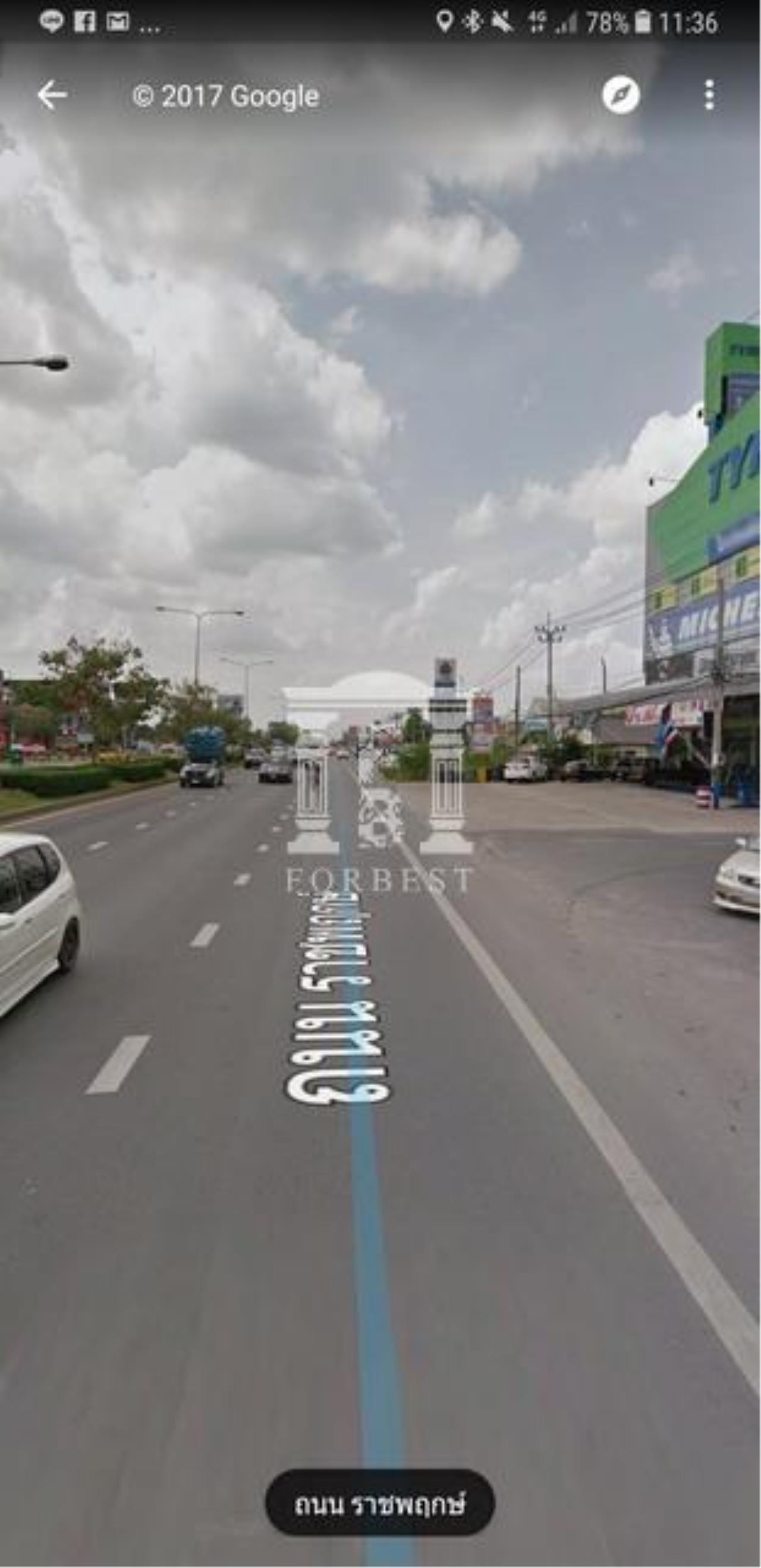 Forbest Properties Agency's 37693-Land for sale, on Ratchaphruek road, 4 rai 355 sq.wa. 3