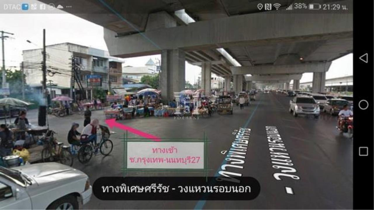 Forbest Properties Agency's 37683-Land for sale, on Krungthep-Non rd, 1 rai 85 sq.wa. 1