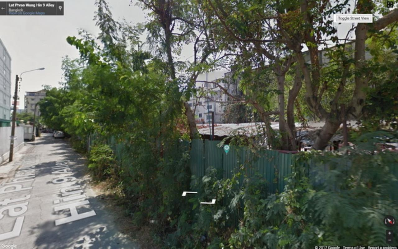 Forbest Properties Agency's 37418-Land for sale, on Ladprao-Wanghin road, 1 rai 383 sq.wa. 1