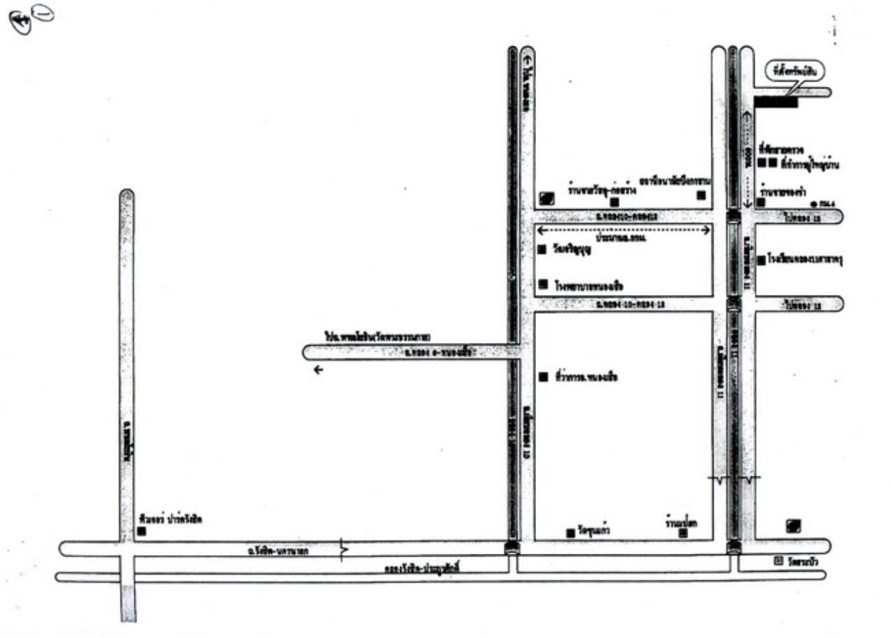 Forbest Properties Agency's 37460-Land for sale, on Rangsit-Nakornnayok road, 7 rai 29 sq.wa. 1
